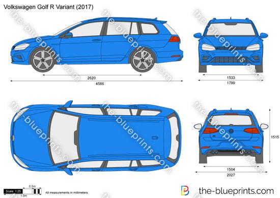 Volkswagen Golf R Variant VII
