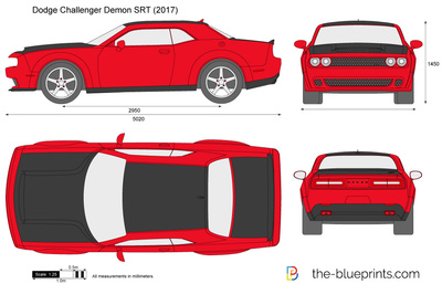 Dodge Challenger Demon SRT