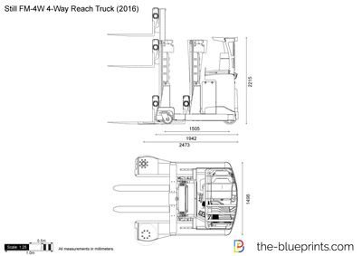 Still FM-4W 4-Way Reach Truck