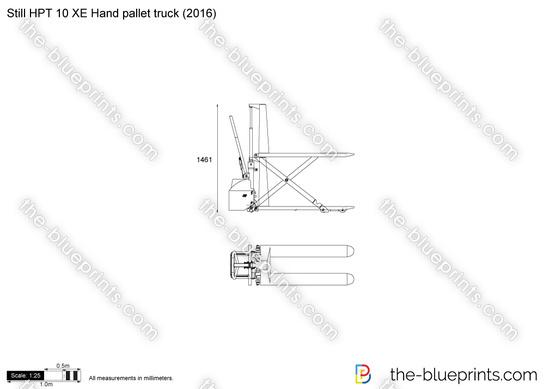 Still HPT 10 XE Hand pallet truck