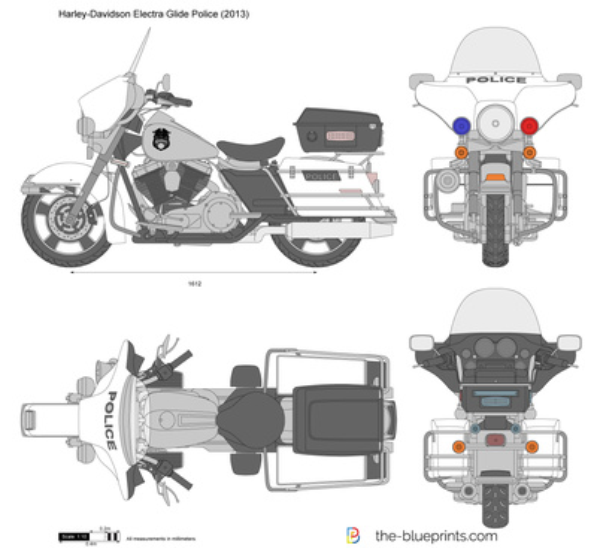 Harley-Davidson Electra Glide Police