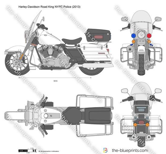 Harley-Davidson Roadking NYPD Police