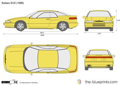 Subaru SVX (1996)