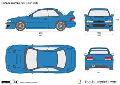 Subaru Impreza 22B STi (1998)