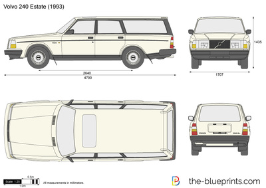 Volvo 240 Estate