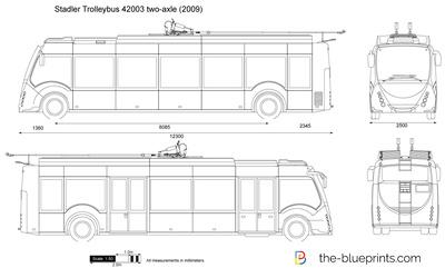 Stadler Trolleybus 42003 two-axle (2009)