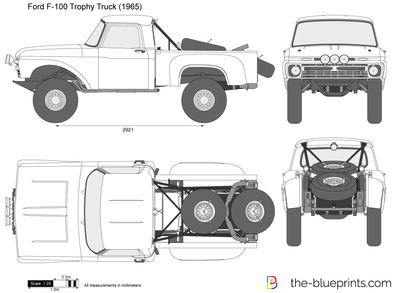 Ford F-100 Trophy Truck