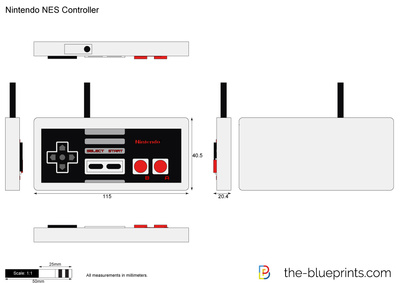 Nes Controller Diagram - On Wiring Diagram on