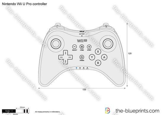 Nintendo Wii U Pro controller