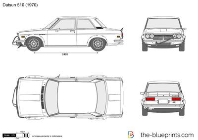 Datsun 510 (1970)