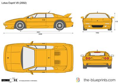 Lotus Esprit V8 (2002)