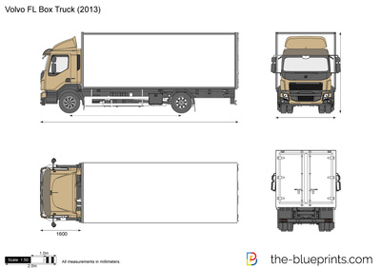 Volvo FL Box Truck