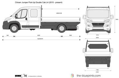 Citroen Jumper Pick-Up Double Cab L4