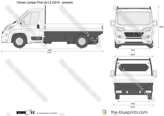 Citroen Jumper Pick-Up L2