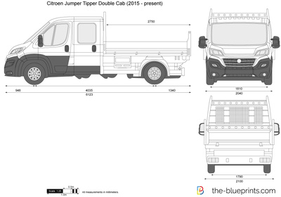 Citroen Jumper Tipper Double Cab