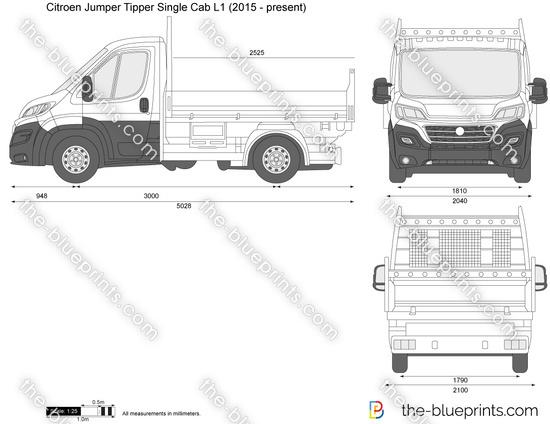 Citroen Jumper Tipper Single Cab L1
