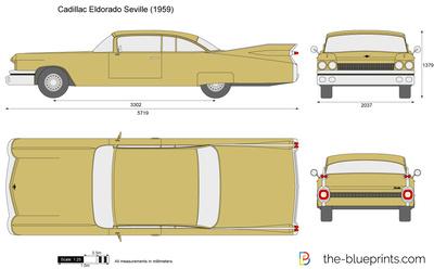 Cadillac Eldorado Seville (1959)