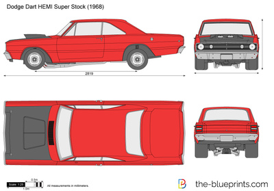 Dodge Dart HEMI Super Stock