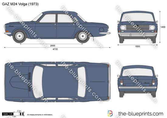 GAZ M24 Volga