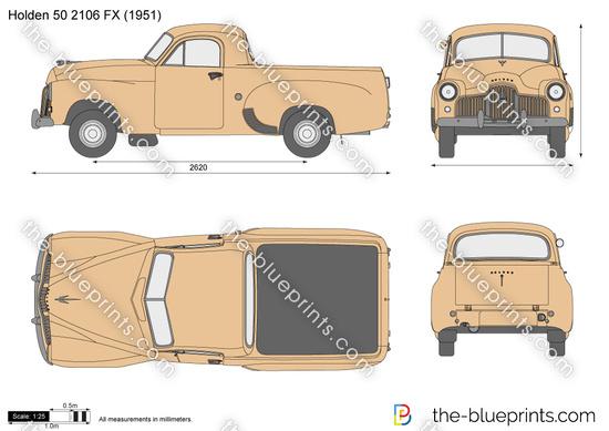 Holden 50 2106 FX
