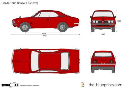 Honda 1300 Coupe 9 S (1970)