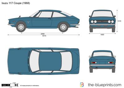 Isuzu 117 Coupe (1968)