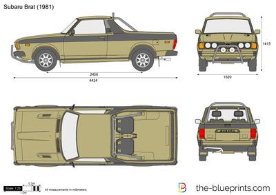 Subaru BRAT (1981)