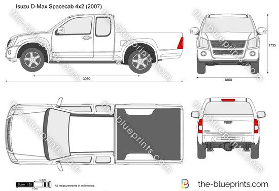 Isuzu D-Max Spacecab 4x2