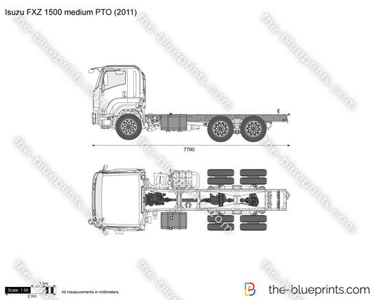 Isuzu FXZ 1500 medium PTO