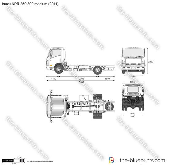 Isuzu NPR 250 300 medium