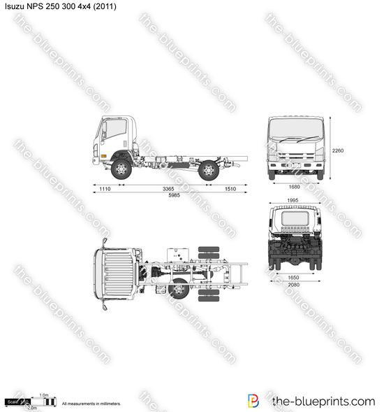 Isuzu NPS 250 300 4x4