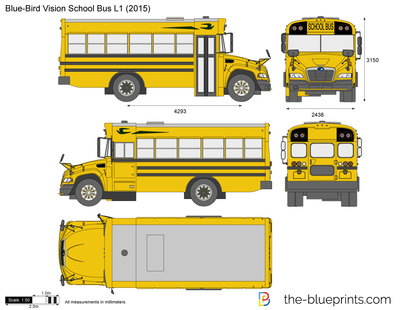 Blue-Bird Vision School Bus L1