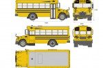 Blue-Bird Vision School Bus L1 (2015)