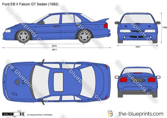 Ford EB II Falcon GT Sedan