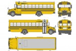 Blue Bird Vision School Bus L3 (2015)