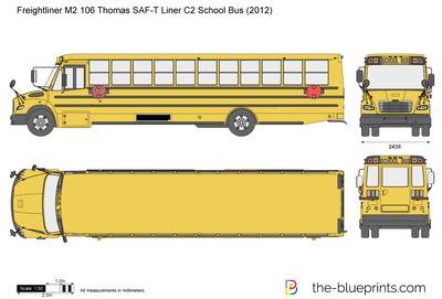 Freightliner M2 106 Thomas SAF-T Liner C2 School Bus