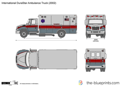 International DuraStar Ambulance Truck