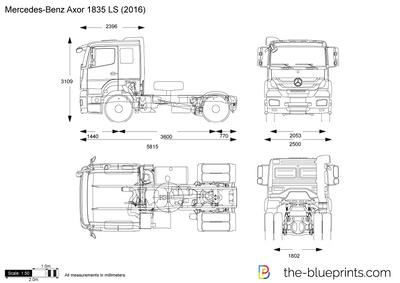 Mercedes-Benz Axor 1835 LS (2016)