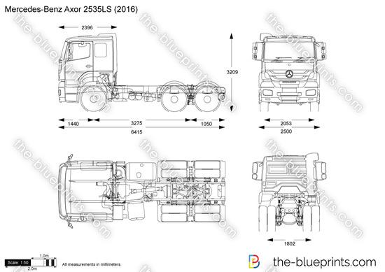 Mercedes-Benz Axor 2535LS