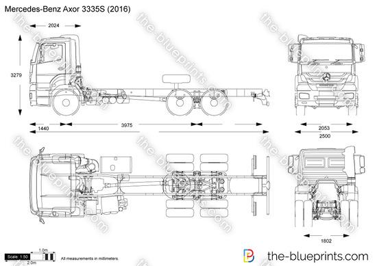 Mercedes-Benz Axor 3335S