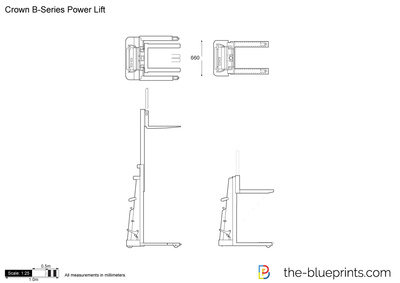 Crown B-Series Power Lift