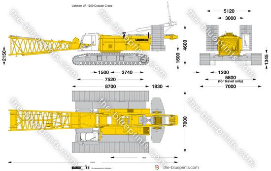 Liebherr LR 1200 Crawler Crane