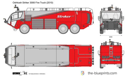 Oshkosh Striker 3000 Fire Truck