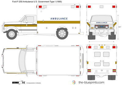 Ford F-250 Ambulance U.S. Government Type I