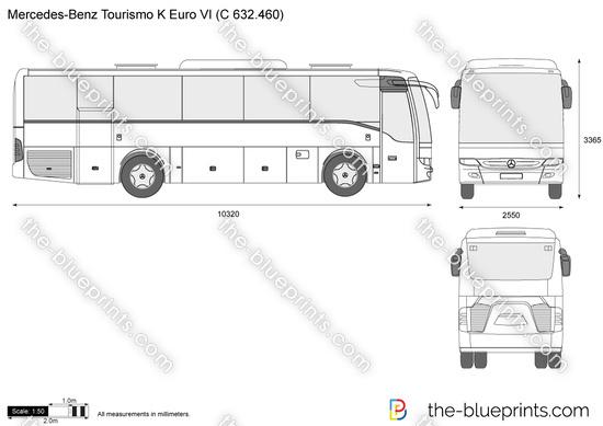 Mercedes-Benz Tourismo K Euro VI (C 632.460)