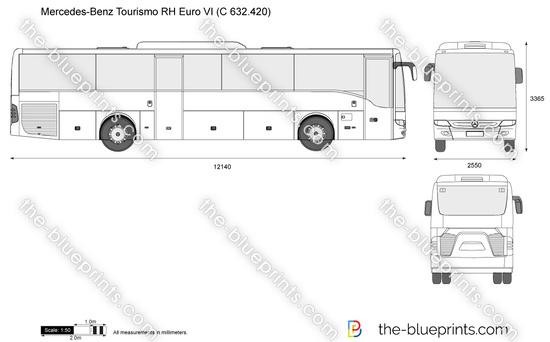 Mercedes-Benz Tourismo RH Euro VI (C 632.420)