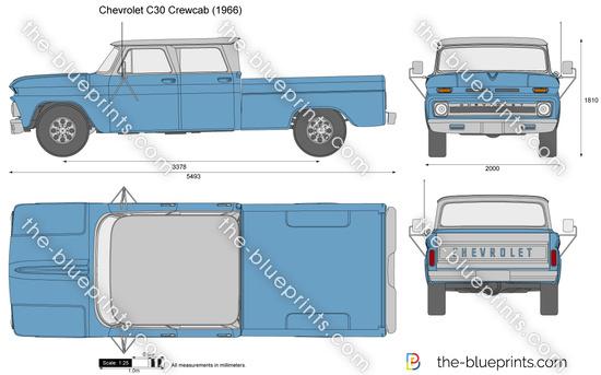 Chevrolet C30 Crewcab