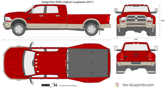 Dodge Ram 5500 Longhorn Longhauler