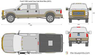 Ford F-350 Lariat Crew Cab Short Box