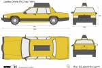 Cadillac DeVille NYC Taxi (1991)